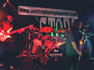 Stone at The Greyhound Beeston